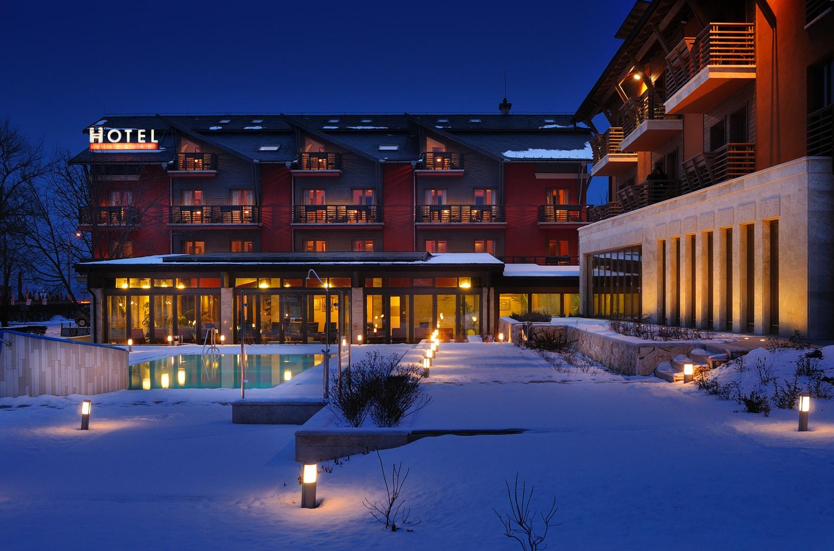 Téli felmelegedés a Hotel Visegrádban