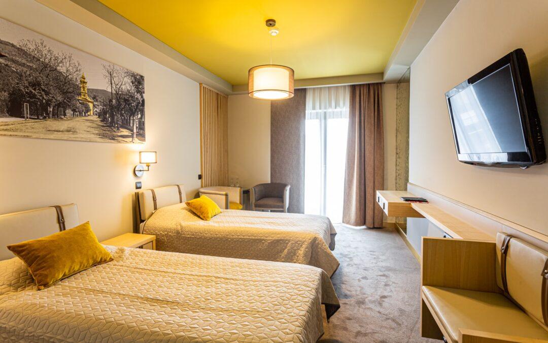 Képeken a Hotel Visegrád felújított szárnya!