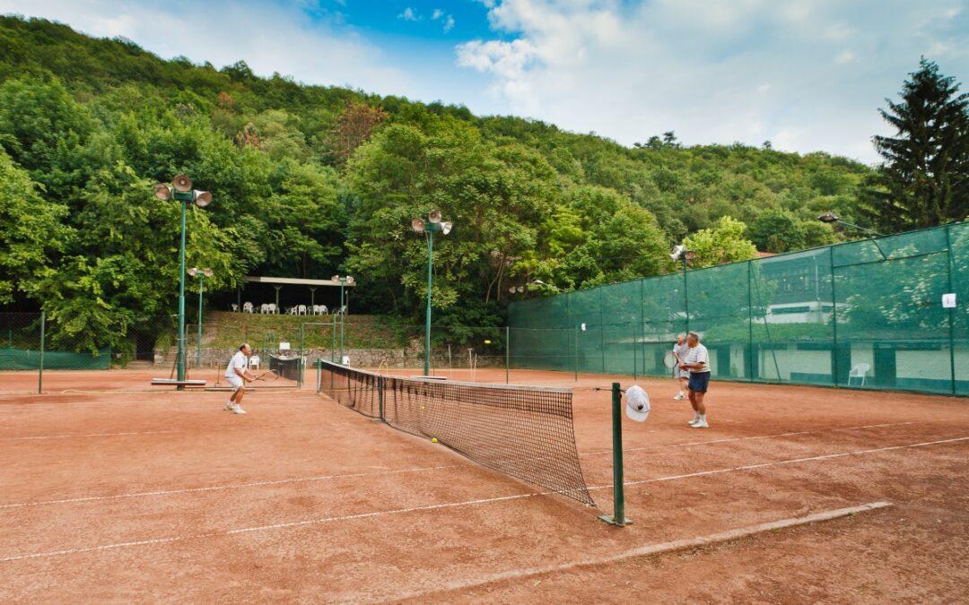 Szervezzenek házi teniszversenyt Visegrádon!